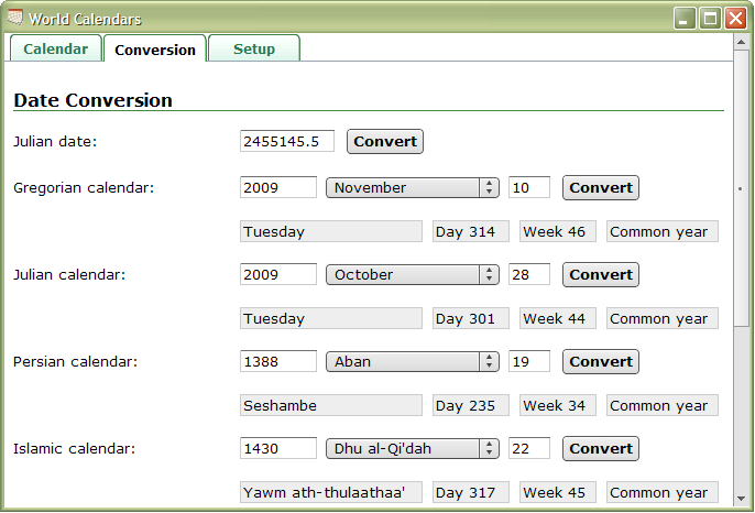 calendars. The calendars and datepicker